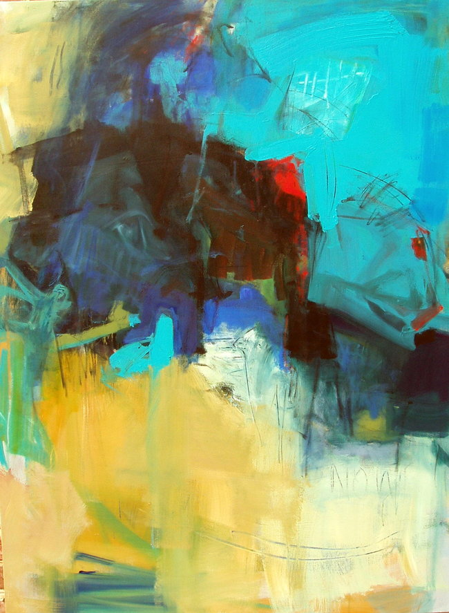 Here and Now – 48x36 – acrylic on canvas